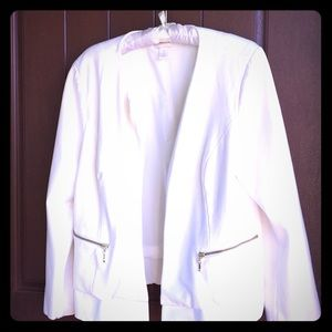 Chico's winter white fashion jacket